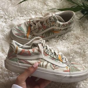 The California Floral Old School VANS,